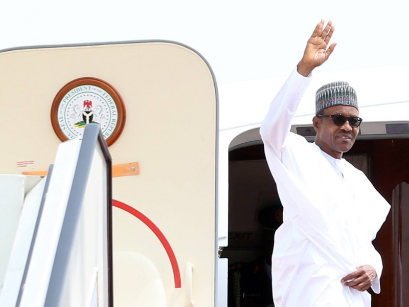 Buhari to visit London Thursday on a private visit