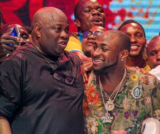 Davido and Dele Momodu ends their beef at Ovation Carol