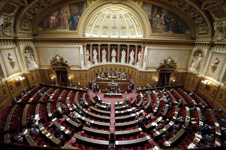 France renews half of senate in test for Macron